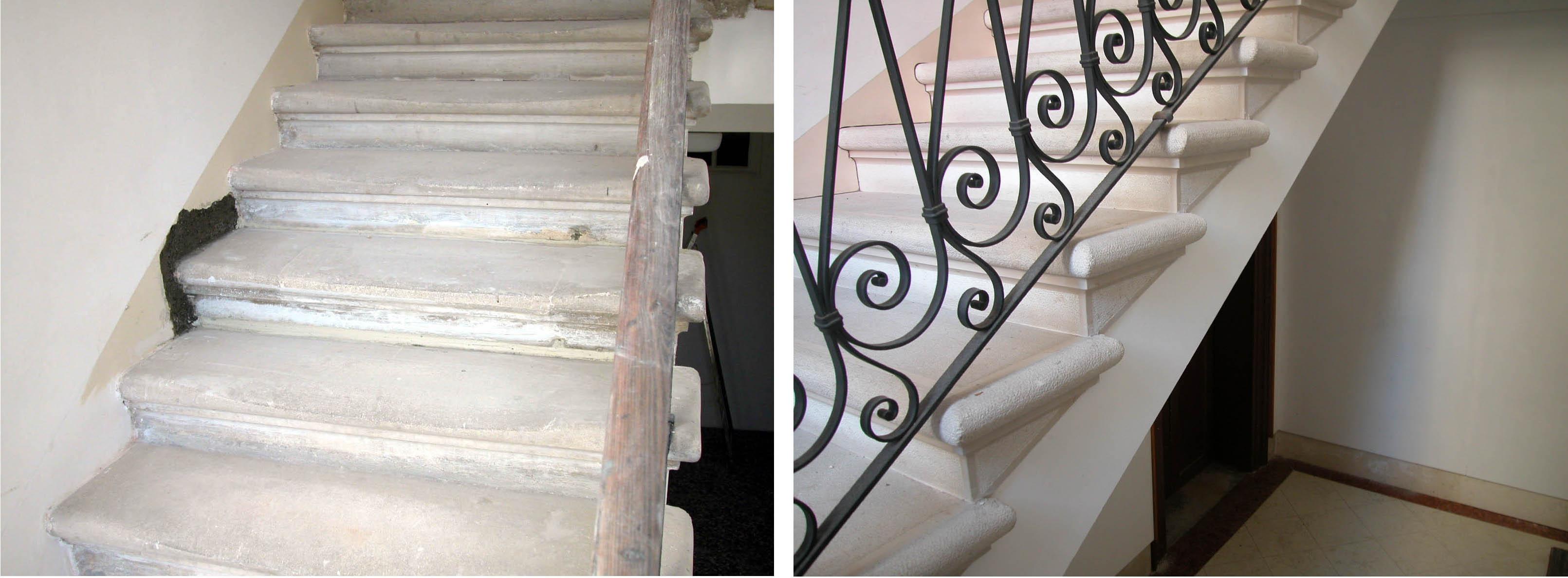 Leandro associati architettura e ingegneria venezia for Arredare pianerottolo scale